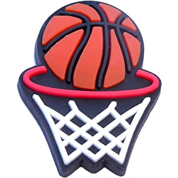 Basketball Rubber Charms