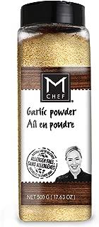 MCHEF Garlic Powder, Organic Kosher Non GMO Gluten Free Spices and Seasonings (17.63 oz)