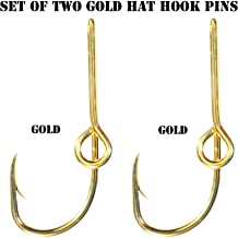 Eagle Claw Hat Fish Hook (Set of Two Gold Hat Hook pins) Plus a FREE Decal with your order!!