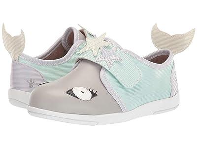 EMU Australia Kids Mermaid Sneaker (Toddler/Little Kid/Big Kid) (Dove Grey) Girl