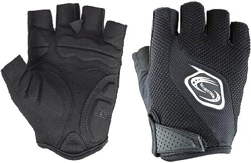 Seibertron Men's/Women's Half Finger/Fingerless Cycling MTB Gloves Road Racing Bicycle Gloves Biking Gloves Gel Pad R...
