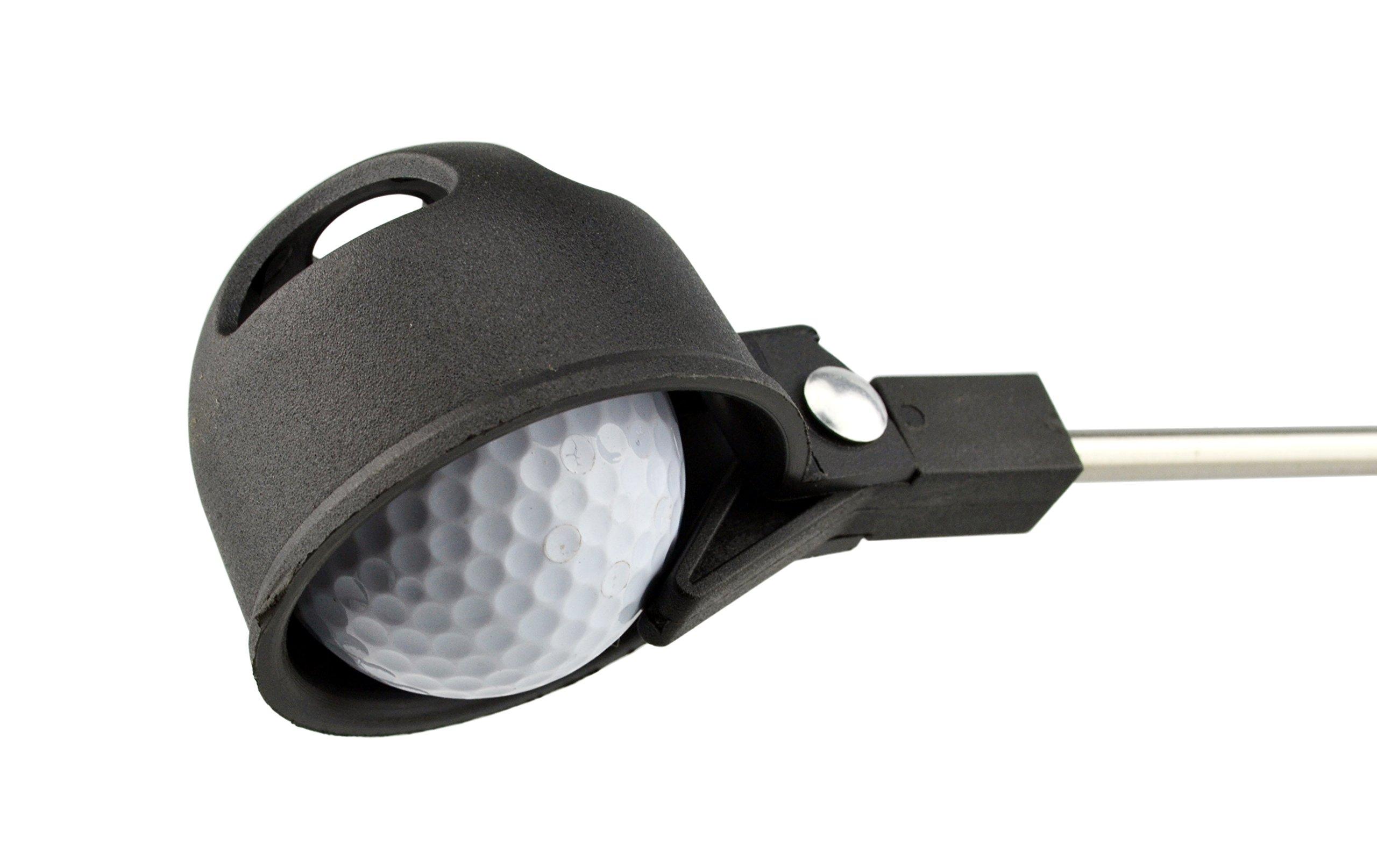 Portátil retráctil telescópica Scoop Pelota de golf Retriever Pick ...
