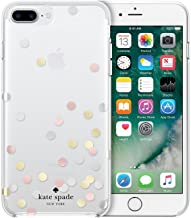 Kate Spade New York Confetti Dots Protective Rubber Case For iPhone 8 Plus/iPhone 7 Plus/iPhone 6 Plus, Sliver/Gold/Rose Gold