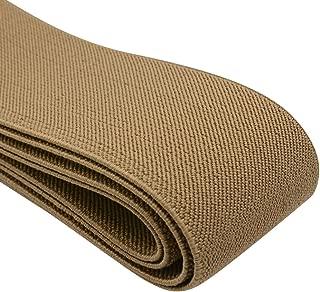 3-Yard by 1-Inch Khaki Dritz 9518-Khaki Knit Elastic