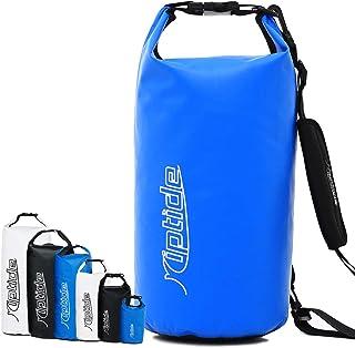 riptide Dry Bag - wasserdichter Packsack mit Umhängegurt I Seesack, Rucksack für Schwimmen, Segeln, Surfen, Outdoor, Strand I Schwimmsack, Drybag, Packsack