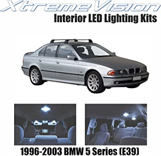 XtremeVision LED for BMW 5 Series (E39) 1996-2003 (11 Pieces) Cool White Premium Interior LED Kit Package + Installation Tool