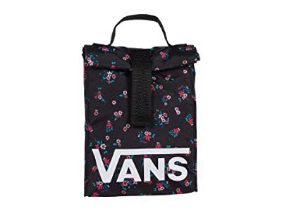 Vans Off The Wall Lunch Sack (Beauty Floral Black) Bags