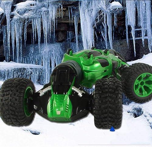 Ledu 1 10 Stuntremot-Control-Auto-Spielzeug, 2,4GHz Allradantrieb Klettern Auto Offroad-Fernbedienung Auto, doppelseitige Rotation, Aufladung