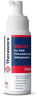 Theraworx Relief Joint Discomfort & Inflammation Foam