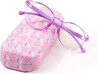 عینک های مسدود کننده چراغ آبی FONHCOO برای کودکان و نوجوانان ، عینک های مخصوص بازی رایانه ای برای دختران و پسران 5-15 سال با ضد خیرگی