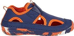 Navy/Orange 1