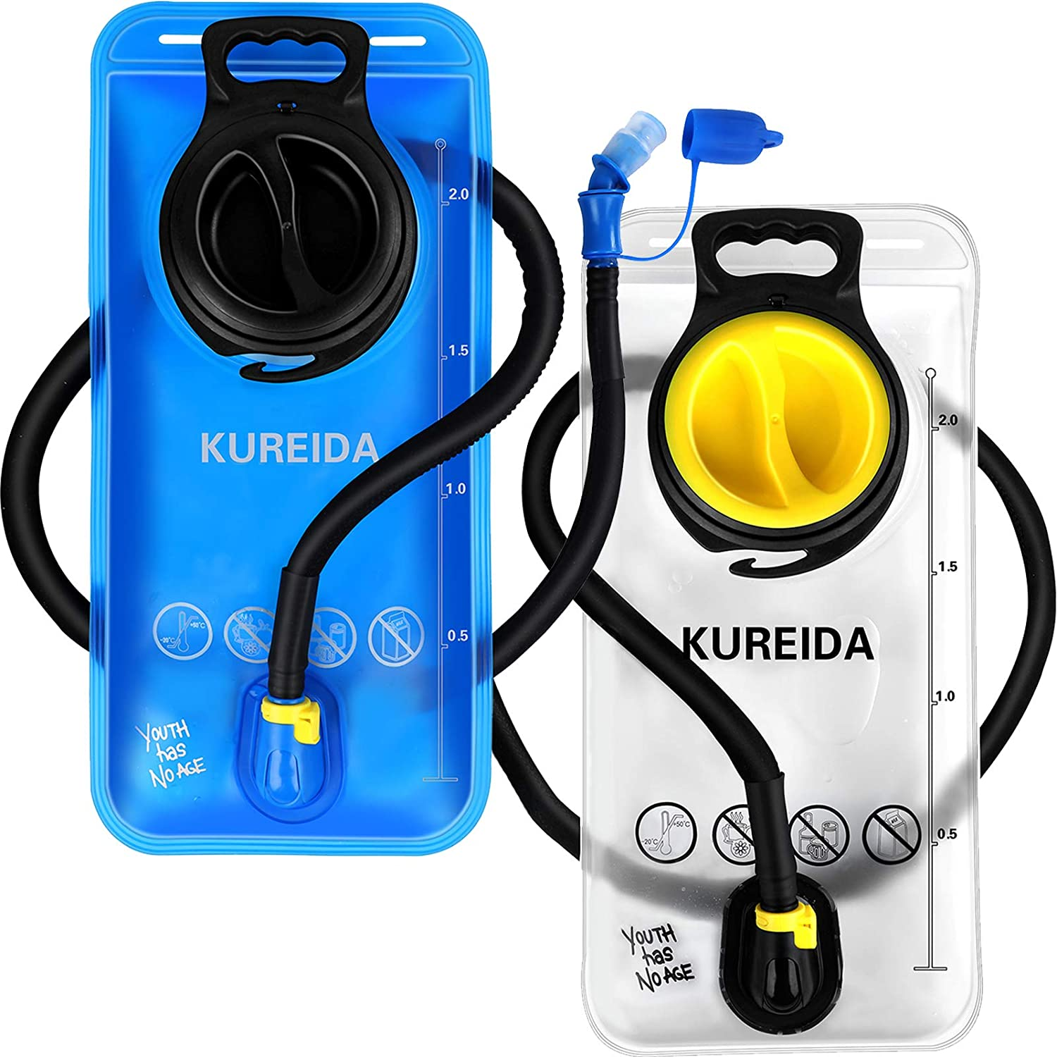 KUREIDA Hydration Bladder 2 Liter Max 51% OFF T with Insulated Super popular specialty store Water