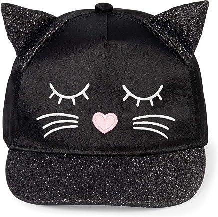 The Children's Place Baby Girls Novelty Cat Baseball Cap