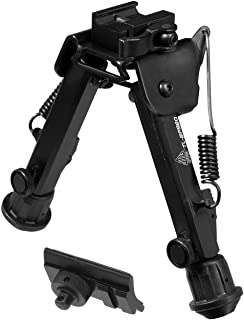 "UTG Super Duty Bi-pod with QD Lever Mount, Height 6.0""- 8.5"""