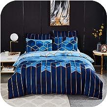 Geometric Bed Linen Comforter Bedding Set Queen King Size Duvet Cover 220x240cm-style2-UK Single 135x200cm