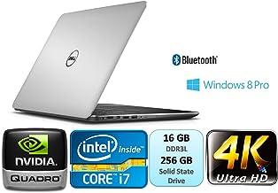 Dell Precision M3800 Mobile Workstation 15.6Inch UltraSharp IGZO UHD Touch (3840x2160) Intel Core i7 i7-4712HQ 16GB DDR3L ...