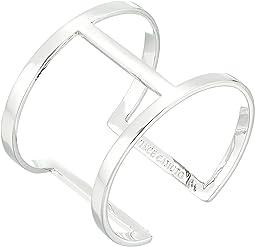 Sculptural Open Cuff Bracelet