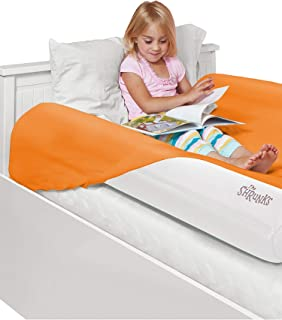 The Shrunks Inflatable Bed Rail with Foot Pump Pack, 2 Count, White (88053)
