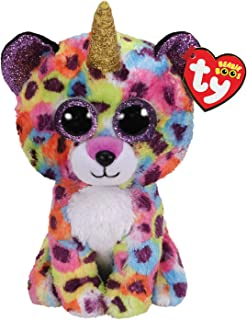 Claire's Ty Beanies Girl's Ty Beanie Boo Medium Giselle The Unicorn Leopard Plush Toy