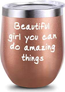 Inspirational Gifts, Inspirational Gift for Girl, Inspirational gift for Women, Beautiful Girl You Can Do Amazing Things B...