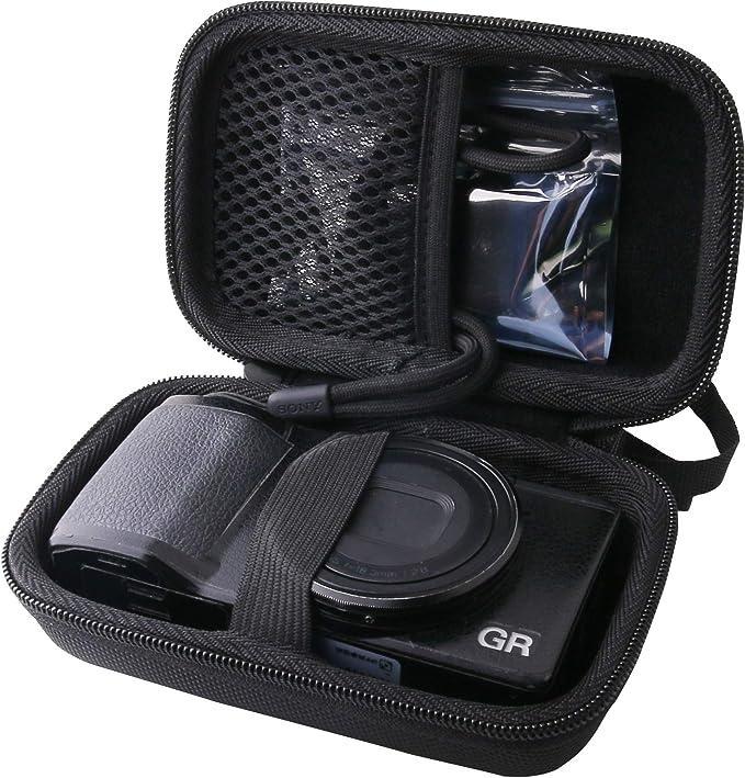 RICOH (リコー) デジタルカメラ GRIII/GRII/GR 専用保護収納ケース-WERJIA.JP (storage case-Black)