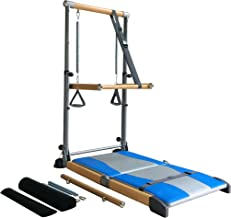 Beverly Hills Fitness Supreme Pilates Pro SPP089 with Ballet Barre Toning Tower, Yoga Pad, and Dvd's