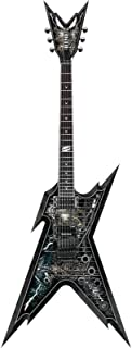 Dean Razorback Guitar, Cemetery Gates with Case