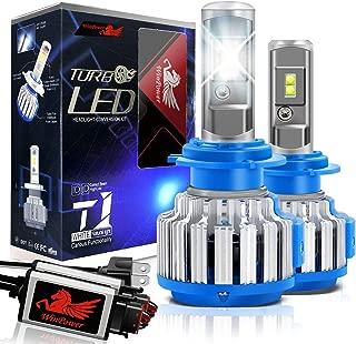 WinPower H7 LED Headlight Bulbs Conversion Kits CREE Chip 7200LM 6000K White Light -2 Yr Warranty