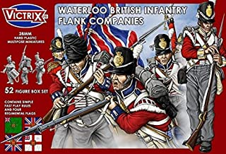 Victrix VX003 - Waterloo British Infantry Flank Companies x52 Figuras - Miniaturas napoleónicas de 28 mm
