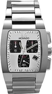 Movado Men's 606091 Fiero Tungsten Carbide Mirror Dial Chronograph Watch