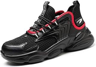 JUDBF Zapatos de Seguridad s3 Hombre Mujer Zapatillas de Trabajo con Punta de Acero Ligero Transpirable Calzado de Industr...