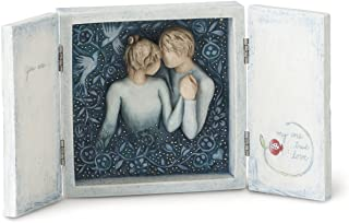 Willow Tree hand-painted sculpted box, Duet