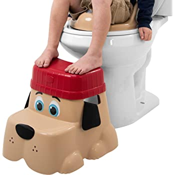 2.3 Pound Squatty Potty Kids Pet Toilet Stool Cub Base with Hat