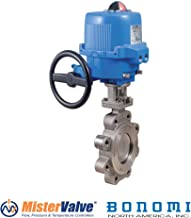 Bonomi ME9101-00 St Steel butterfly valve with ON/OFF plastic actuator (10