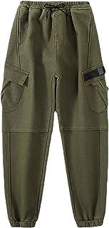 ZRFNFMA Ropa de niños, Pantalones Casuales de Estilo Infantil, Pantalones Infantiles, Pantalones Casuales de Color Suelto.