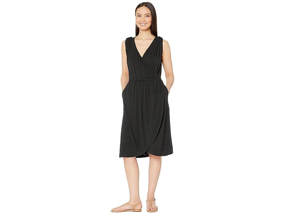 Royal Robbins Noe Cross-Over Dress (Jet Black) Women