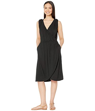 Royal Robbins Noe Cross-Over Dress (Jet Black) Women