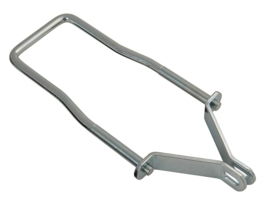 CE Smith U-Bolt Spare Tire Carrier with Spin On Lock Brackets, 8-3/4