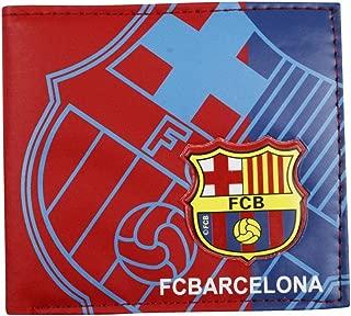 MLC Football Club Soccer Team Logo Printed Unisex PU Leather Wallets for Football Fans