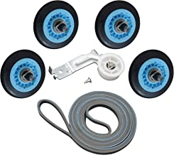 ATMA Dryer Repair Kit for Samsung Belt Maintenance Kit Includes DC97-16782A Drum Roller DC93-00634A Idler Pulley 6602-001655 Belt Replace AP5325135 AP4373659 AP6038887 PS4221885 PS4133825