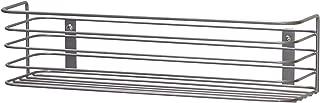Household Essentials 1226-1 Long Basket Door Mount Cabinet Organizer | Mounts to Solid Cabinet Doors or Walls