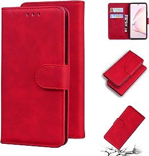 LODROC Lederen Portemonnee Case voor Galaxy A81/M60S/Note 10 Lite, [Kickstand Feature] PU Lederen Portemonnee Case Flip Fo...