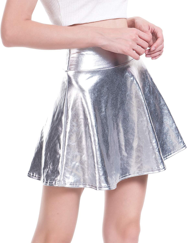 1PC Fashion Femme élastique coton plissé taille haute Package Hip jupe courte