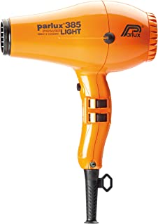 Parlux 385 Powerlight Ceramic & Ionic 2150W Hair Dryer, Orange