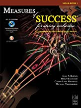 Measures of Success for String Orchestra Violin Book 1