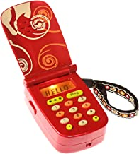 B. toys – Hellophone Toy Cell Phone – Kids Play Phone with Light Sounds and Songs – Toddler Toy Phone with Message Recorder – 100% Non-Toxic and BPA-Free