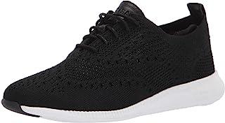 حذاء منسوج من كول هان اوكسفورد زيروجراند 2 ستيتشلايت للنساء, (اسود), 40 EU