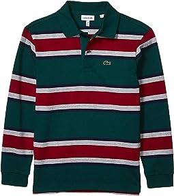 Lacoste Sports Junior Kids 319 Plain T-Shirt Navy