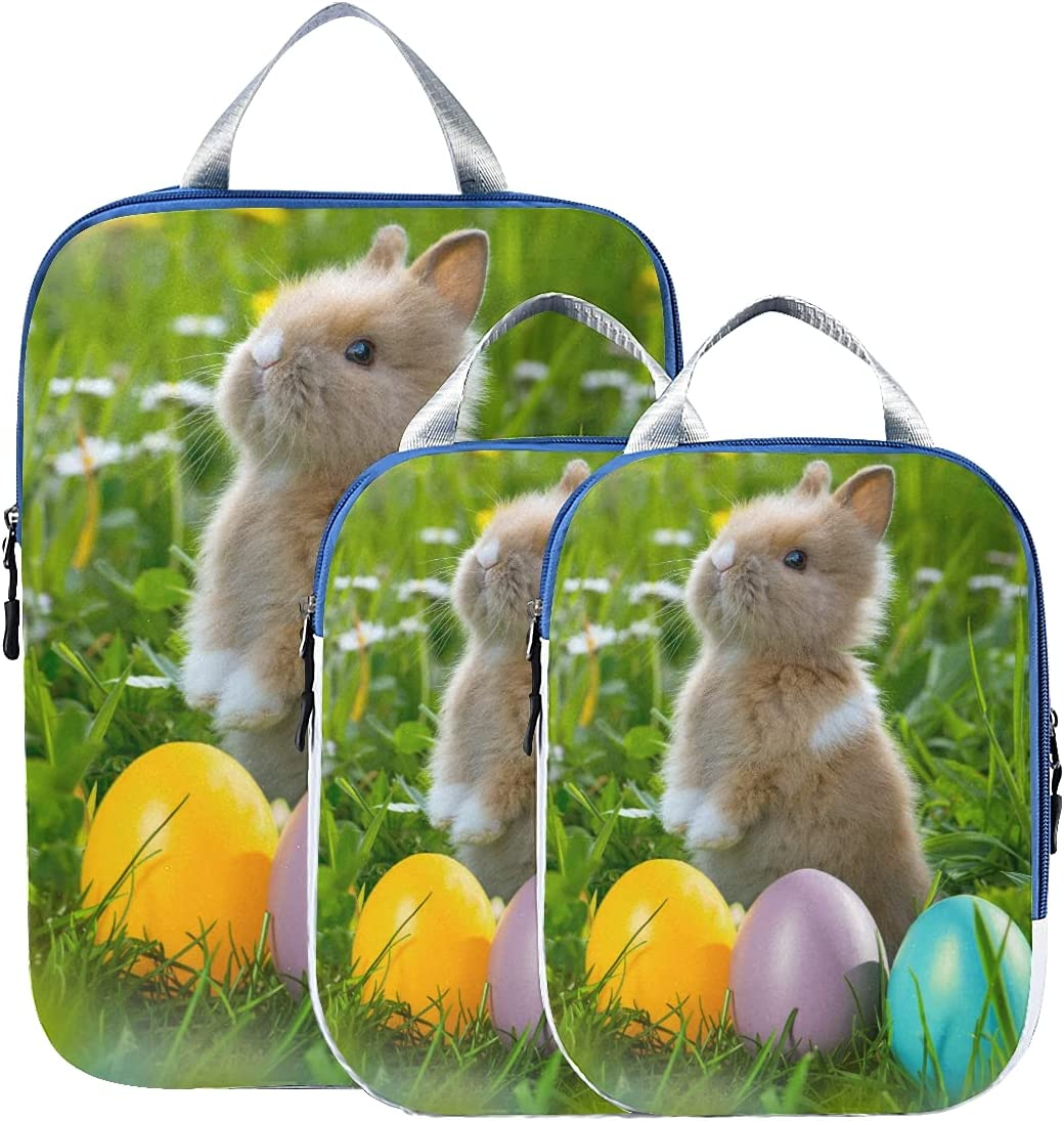 Travel Accessories Easter Ranking TOP8 Rabbit Eggs Organizer Expandabl Free shipping