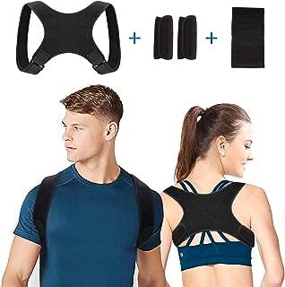Corrector de postura para la corrección de la postura para el dolor de cuello, espalda y hombros